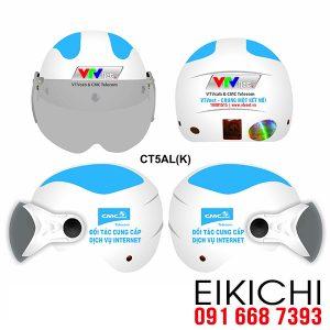 VTV đặt làm mũ bảo hiểm quà tặng