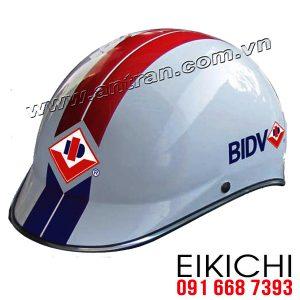Ngân hàng BIDV làm mũ bảo hiểm