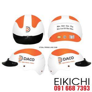 Mẫu mũ bảo hiểm của công ty DACO