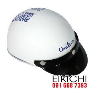 Công ty Unilever đặt làm mũ bảo hiểm