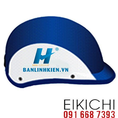 Mẫu nón bảo hiểm quảng cáo MH Group làm quà tặng ở TPHCM xưởng sản xuất Eikichi