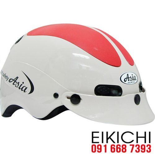 Mẫu nón bảo hiểm quảng cáo Asia làm quà tặng ở TPHCM xưởng sản xuất Eikichi