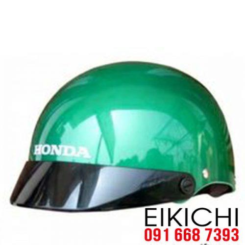Mẫu nón bảo hiểm quảng cáo Honda QT02 làm quà tặng ở TPHCM xưởng sản xuất EiKiChi