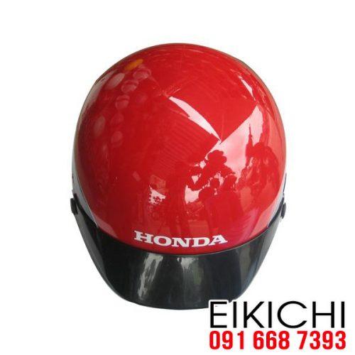 Mẫu nón bảo hiểm Honda màu đỏ ở TPHCM xưởng sản xuất EiKiChi