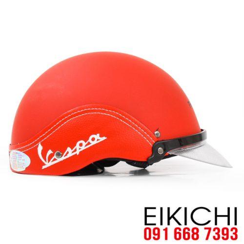 Mẫu nón bảo hiểm quảng cáo Vespa làm quà tặngở TPHCM xưởng sản xuất EiKiChi