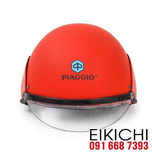 Mẫu nón bảo hiểm quảng cáo Piaggio ở TPHCM xưởng sản xuất EiKiChi