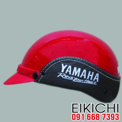 Mẫu nón bảo hiểm quảng cáo Yamaha làm quà tặng ở TPHCM xưởng eikichi