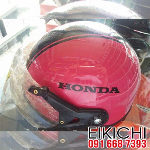 Mẫu nón bảo hiểm quảng cáo Honda ở TPHCM xưởng eikichi