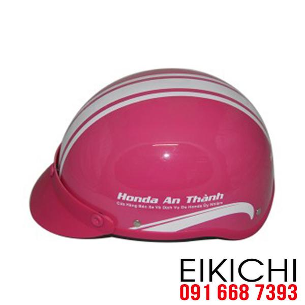 Mẫu nón bảo hiểm đại lý xe Honda An Thành đặt làm quà tặng