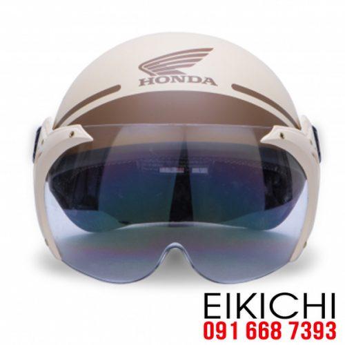 Mẫu nón bảo hiểm đại lý Honda có kính ở TPHCM xưởng sản xuất EiKiChi