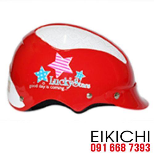 Mẫu nón bảo hiểm quảng cáo Lucky Stars làm quà tặng ở TPHCM xưởng sản xuất EiKiChi