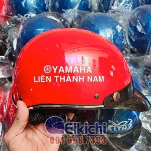 Nón bảo hiểm quảng cáo cửa hàng Yamaha Liên Thành Nam