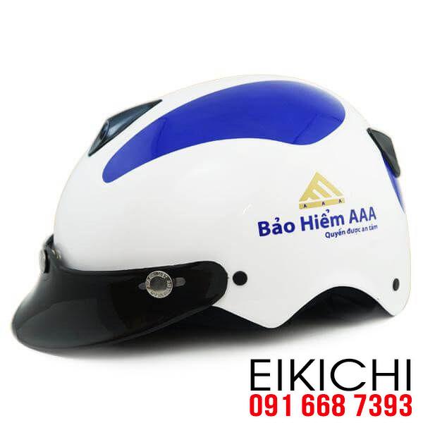Nón bảo hiểm quà tặng, nón bảo hiểm quảng cáo EiKiChi
